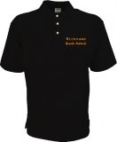 Grande-Punto.de Polo-Shirt schwarz/orange