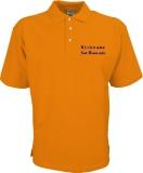 Fiat-Bravo.info Polo-Shirt orange/blau
