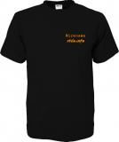 stilo.info T-Shirt schwarz/orange