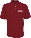 Fiat-Forum.de Polo-Shirt rot/grau