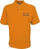 stilo.info Polo-Shirt orange/blau