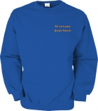 Grande-Punto.de Sweater blau/orange