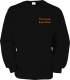 Grande-Punto.de Sweater schwarz/orange
