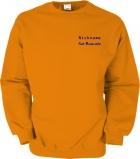 Fiat-Bravo.info Sweater orange/blau