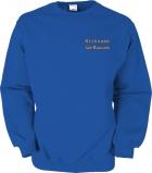 Fiat-Bravo.info Sweater blau/orange