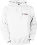 Fiat-Forum.de Hooded Sweater weiß/schwarz