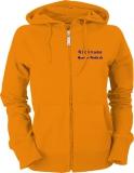 Grande-Punto.de Ladies Hooded Jacket orange/blau