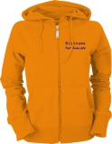 Fiat-Bravo.info Ladies Hooded Jacket orange/blau