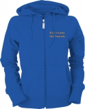 Fiat-Bravo.info Ladies Hooded Jacket blau/orange