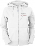 Fiat-Forum.de Ladies Hooded Jacket weiß/schwarz